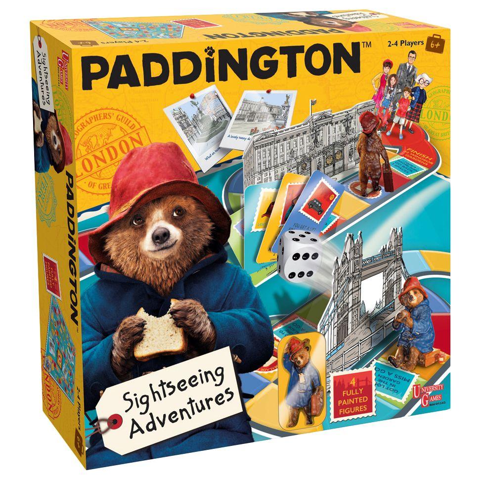 Paddington Bear Paddington Bear's Sightseeing Adventure Game