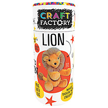 Buy Craft Factory Make Your Own Lion Online at johnlewis.com