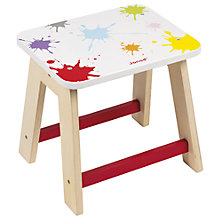 Buy Janod Splash Wooden Stool Online at johnlewis.com