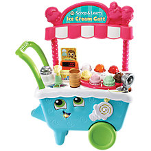 Buy LeapFrog Scoop & Learn Ice Cream Cart Online at johnlewis.com