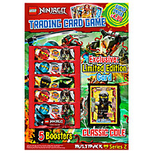 Buy Ninjago Trading Card Season 2 Multipack Online at johnlewis.com