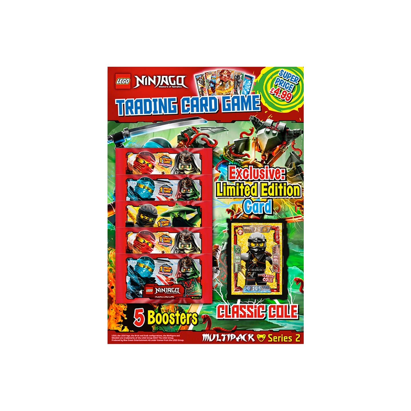 Buyninjago Trading Card Season 2 Multipack Online At Johnlewiscom
