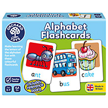 Buy Orchard Toys Alphabet Flashcards Online at johnlewis.com