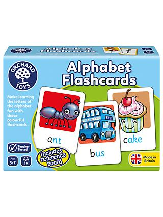 Orchard Toys Alphabet Flashcards Game