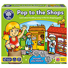 Buy Pop To The Shops Board Game Online at johnlewis.com