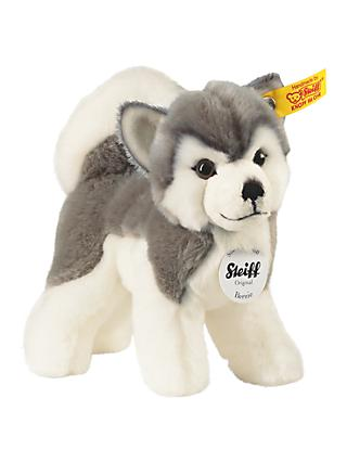 Steiff Bernie Husky Plush Soft Toy