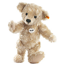 Buy Steiff Luca Teddy Bear, Blond Online at johnlewis.com