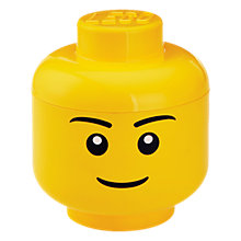 Buy LEGO Storage Head, Small Online at johnlewis.com