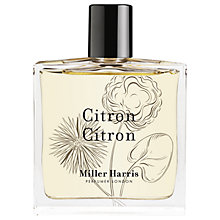 Buy Miller Harris Citron Citron Eau de Parfum, 100ml Online at johnlewis.com