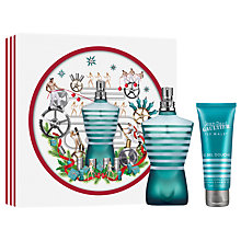 Buy Jean Paul Gaultier Le Male 125ml Eau de Toilette Fragrance Gift Set Online at johnlewis.com