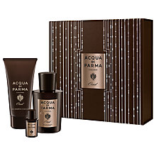 Buy Acqua di Parma Colonia Oud 100ml Eau de Cologne Concentrée Fragrance Gift Set Online at johnlewis.com