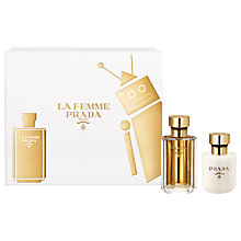 Buy Prada La Femme 50ml Eau de Parfum Fragrance Gift Set Online at johnlewis.com