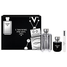 Buy Prada L'Homme 100ml Eau de Toilette Fragrance Gift Set Online at johnlewis.com