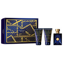 Buy Versace Dylan Blue 50ml Eau de Toilette Fragrance Gift Set Online at johnlewis.com
