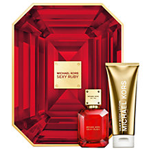 Buy Michael Kors Sexy Ruby 50ml Eau de Parfum Fragrance Gift Set Online at johnlewis.com