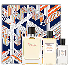 Buy HERMÈS Terre d'Hermès 100ml Eau de Toilette Fragrance Gift Set Online at johnlewis.com