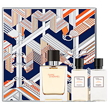 Buy HERMÈS Terre d'Hermès 50ml Eau de Toilette Fragrance Gift Set Online at johnlewis.com