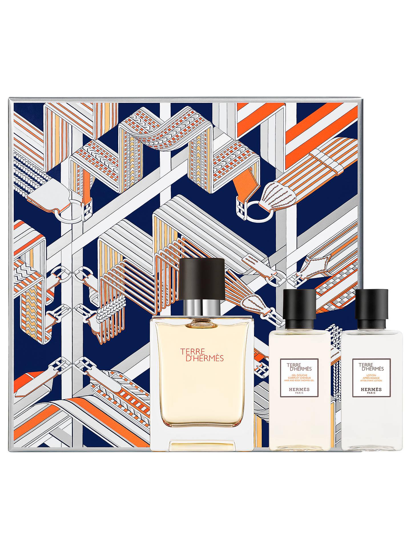 BuyHERMÈS Terre d Hermès 50ml Eau de Toilette Fragrance Gift Set Online at  johnlewis. ff7ab16a061