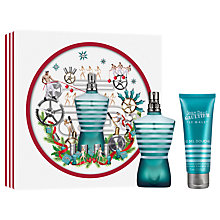 Buy Jean Paul Gaultier Le Male 75ml Eau de Toilette Fragrance Gift Set Online at johnlewis.com