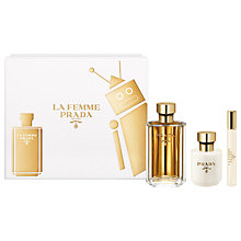 Buy Prada La Femme 100ml Eau de Parfum Fragrance Gift Set Online at johnlewis.com