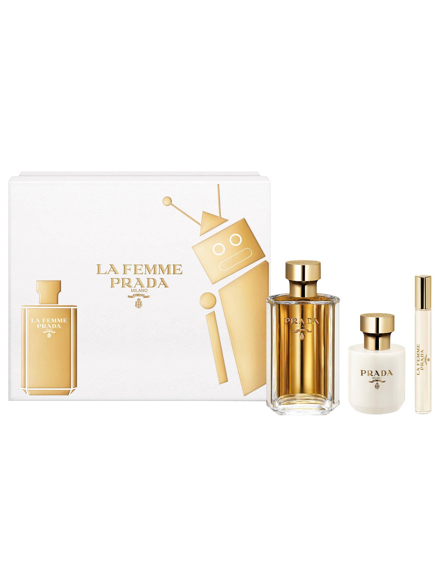 e35cfb6939dca Buy Prada La Femme 100ml Eau de Parfum Fragrance Gift Set Online at  johnlewis.com