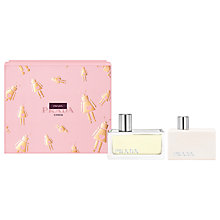 Buy Prada Amber 50ml Eau de Parfum Fragrance Gift Set Online at johnlewis.com
