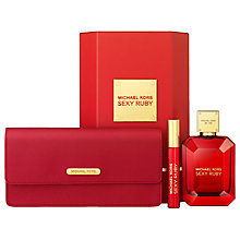 Buy Michael Kors Sexy Ruby 100ml Eau de Parfum with Clutch Bag Fragrance Gift Set Online at johnlewis.com
