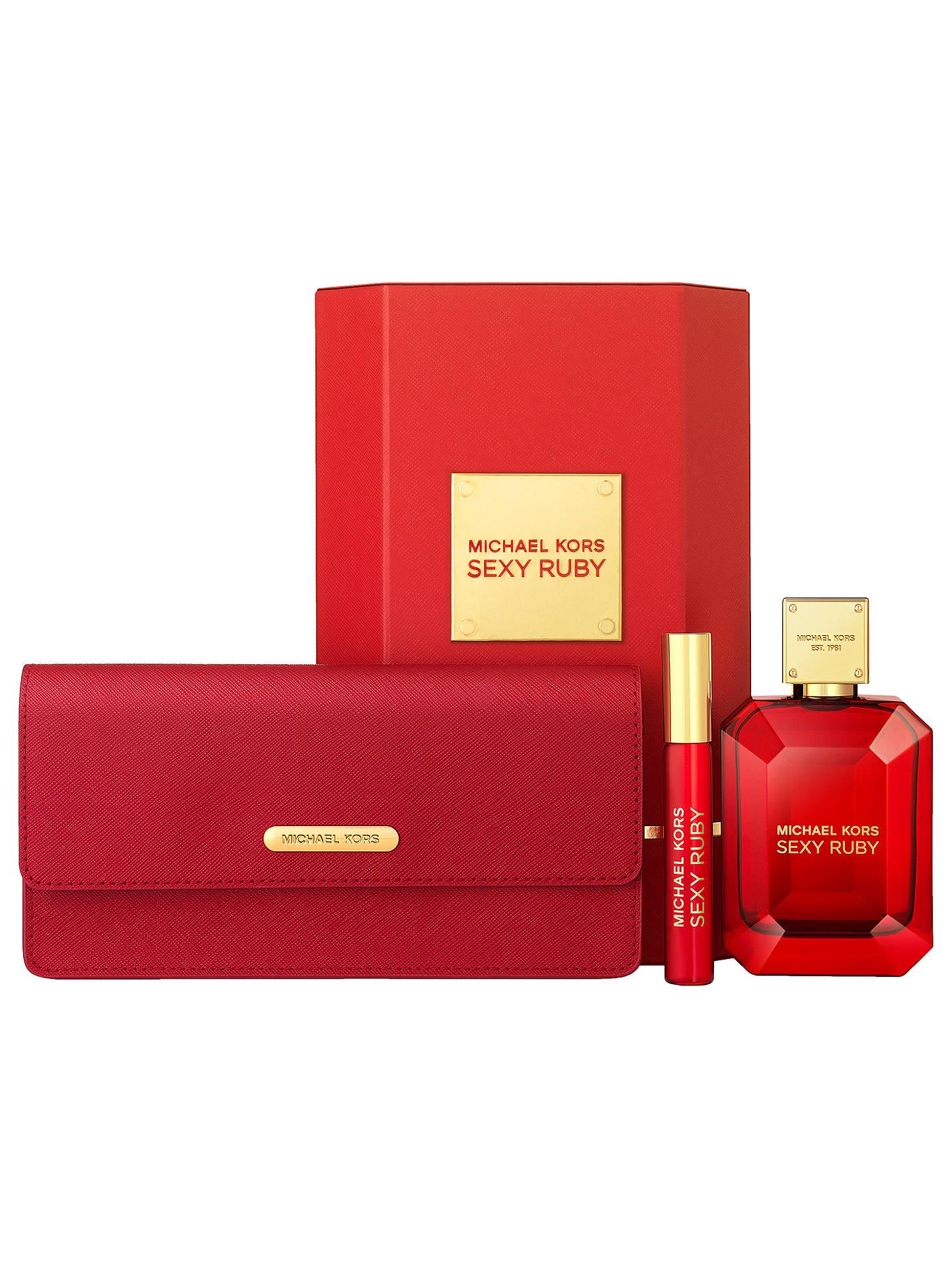 e90dfd51cfeb9 Buy Michael Kors Sexy Ruby 100ml Eau de Parfum with Clutch Bag Fragrance  Gift Set Online ...