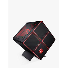 Buy HP OMEN 900-122na Gaming Desktop PC, Intel Core i7, 16GB RAM, 512GB SSD, NVIDIA GTX 1080Ti, Black Online at johnlewis.com