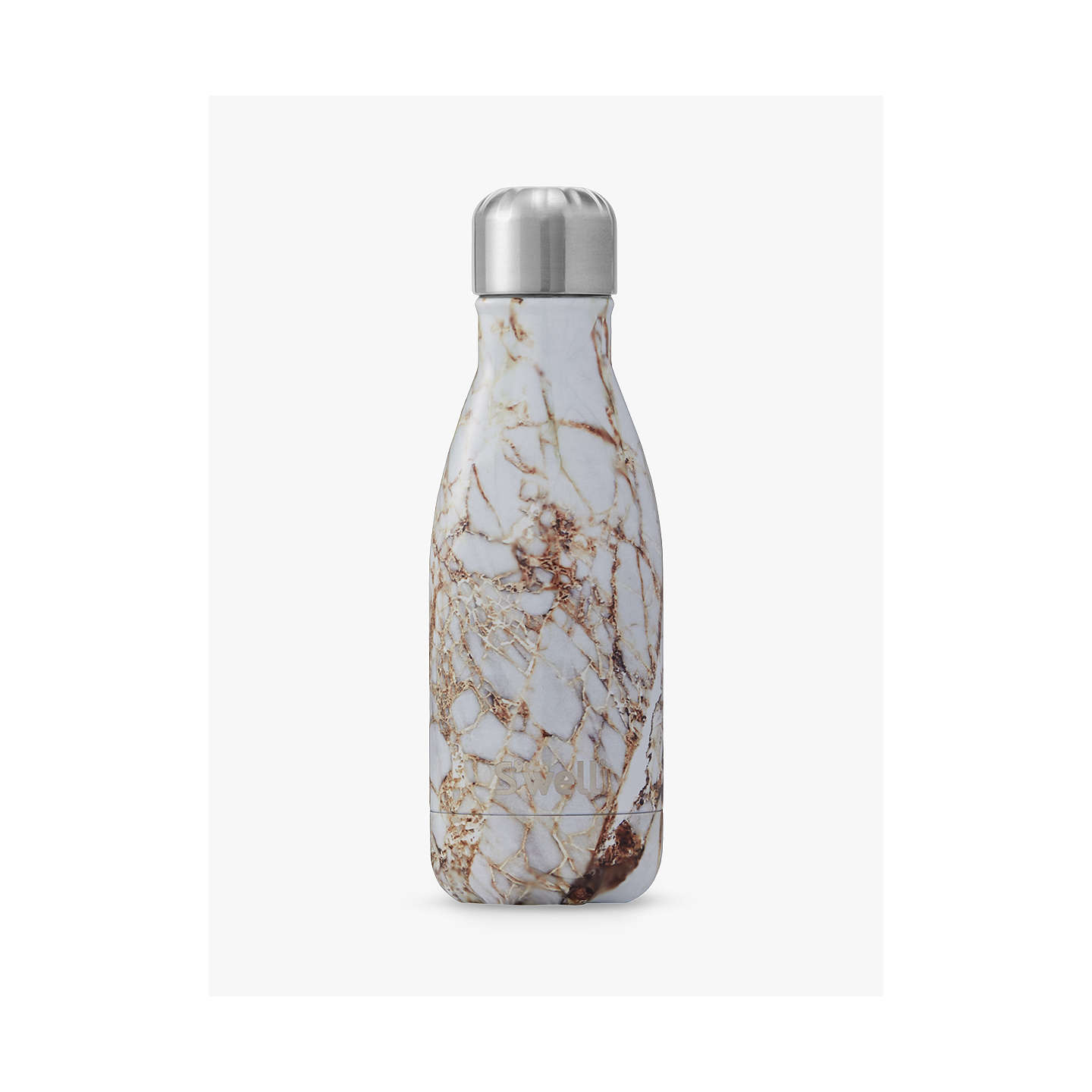 BuyS'well Calacatta Gold Marble Drinking Bottle, 260ml Online at johnlewis.com