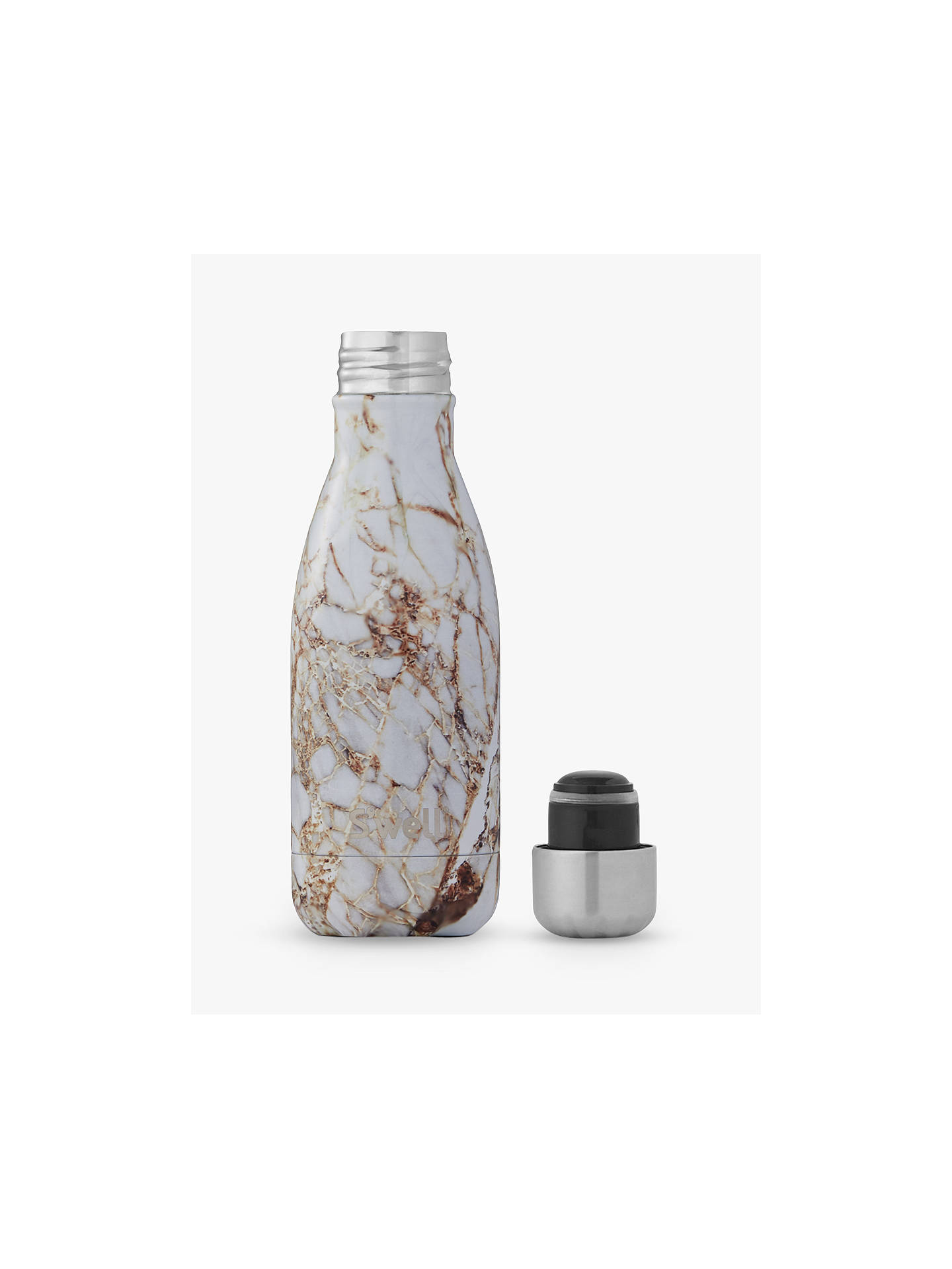 Buy S'well Calacatta Gold Marble Vacuum Insulated Drinks Bottle, 260ml Online at johnlewis.com