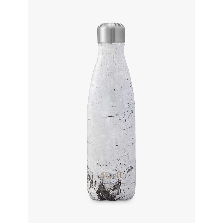 S Well White Birch Marble Drinking Bottle 500ml At John Lewis