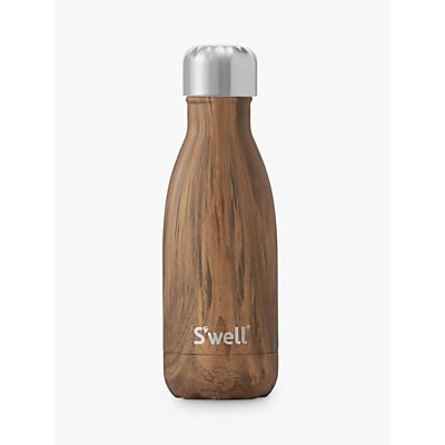S'well Teakwood Drinking Bottle, 260ml