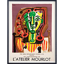 Buy Picasso - Mourlot The Seibu Department Stores Ltd Framed Print, 79 x 58cm Online at johnlewis.com