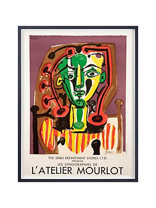 Pablo Picasso - Atelier Mourlot The Seibu Department Stores Ltd Framed Original Print, 79 x 58cm