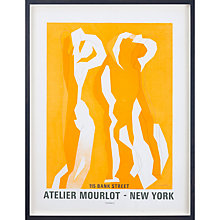 Buy Andre Beaudin - Atelier Mourlot New York Framed Print, 85 x 64cm Online at johnlewis.com