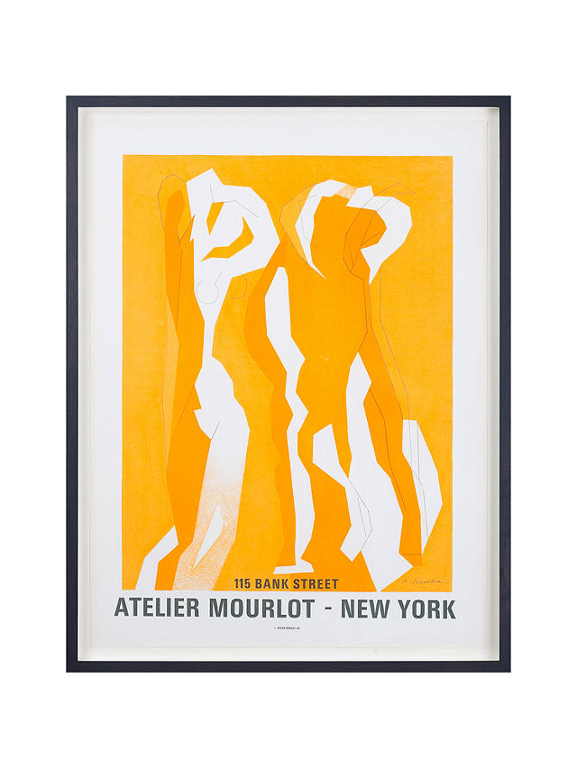 Buy Andre Beaudin - Atelier Mourlot New York Framed Original Print, 85 x 64cm Online at johnlewis.com