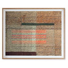 Buy Paul Klee - Two Emphasised Layers Framed Print, 67 x 82cm Online at johnlewis.com