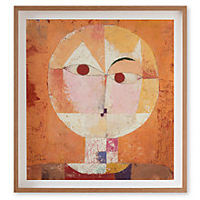 Buy Paul Klee - Senecio Framed Print, 60 x 52cm Online at johnlewis.com