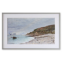 Buy Claude Monet - La Pointe De La Heve Framed Print, 52 x 82cm Online at johnlewis.com
