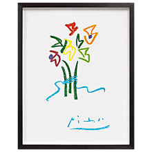 Buy Picasso - Evening Flowers Framed Print, 63 x 53cm Online at johnlewis.com