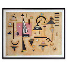 Buy Wassily Kandinsky - Decisive Pink Framed Print, 66 x 82cm Online at johnlewis.com