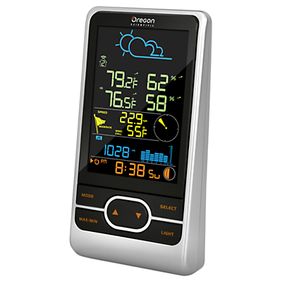 Oregon Scientific WMR86NS Complete Home Weather Station, Silver