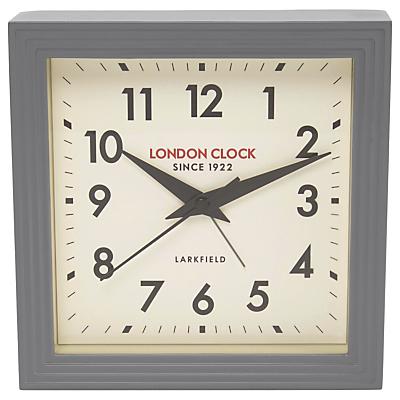 London Clock Company Station Clock, Grey