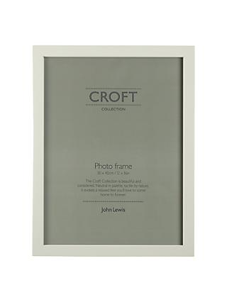 "Croft Collection Photo Frame, 12 x 16"" (30 x 40cm), FSC-Certified (Pine Wood), Slate Blue"