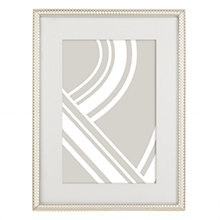 "Buy John Lewis Cambridge Photo Frame, 4 x 6"" (10 x 15cm), Silver Online at johnlewis.com"