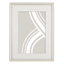 "Buy John Lewis Cambridge Photo Frame, 6 x 8"" (15 x 21cm), Silver Online at johnlewis.com"