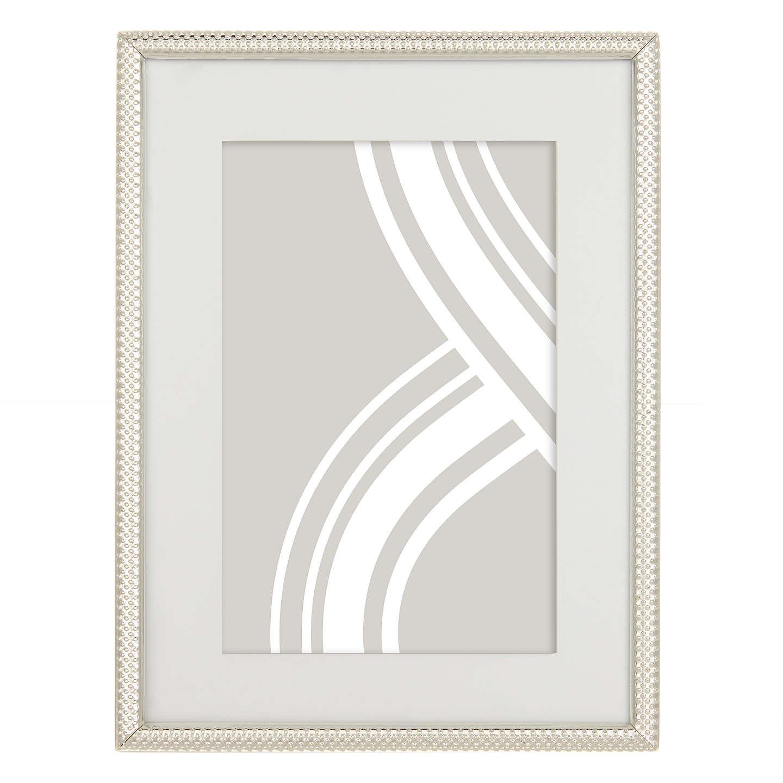 "John Lewis Cambridge Frame 6 x 8"" 15 x 21cm Silver at John"