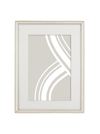 John Lewis & Partners Cambridge Photo Frame, Silver Plated