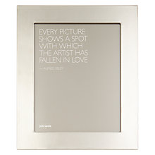 "Buy John Lewis Fused Glass Photo Frame, 8 x 10"" (20 x 25cm), Grey Online at johnlewis.com"